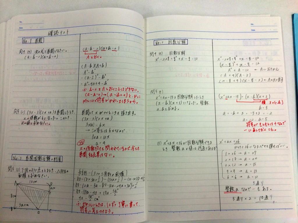 勉強できる子の定期テスト ... : 数学2 問題 : 数学