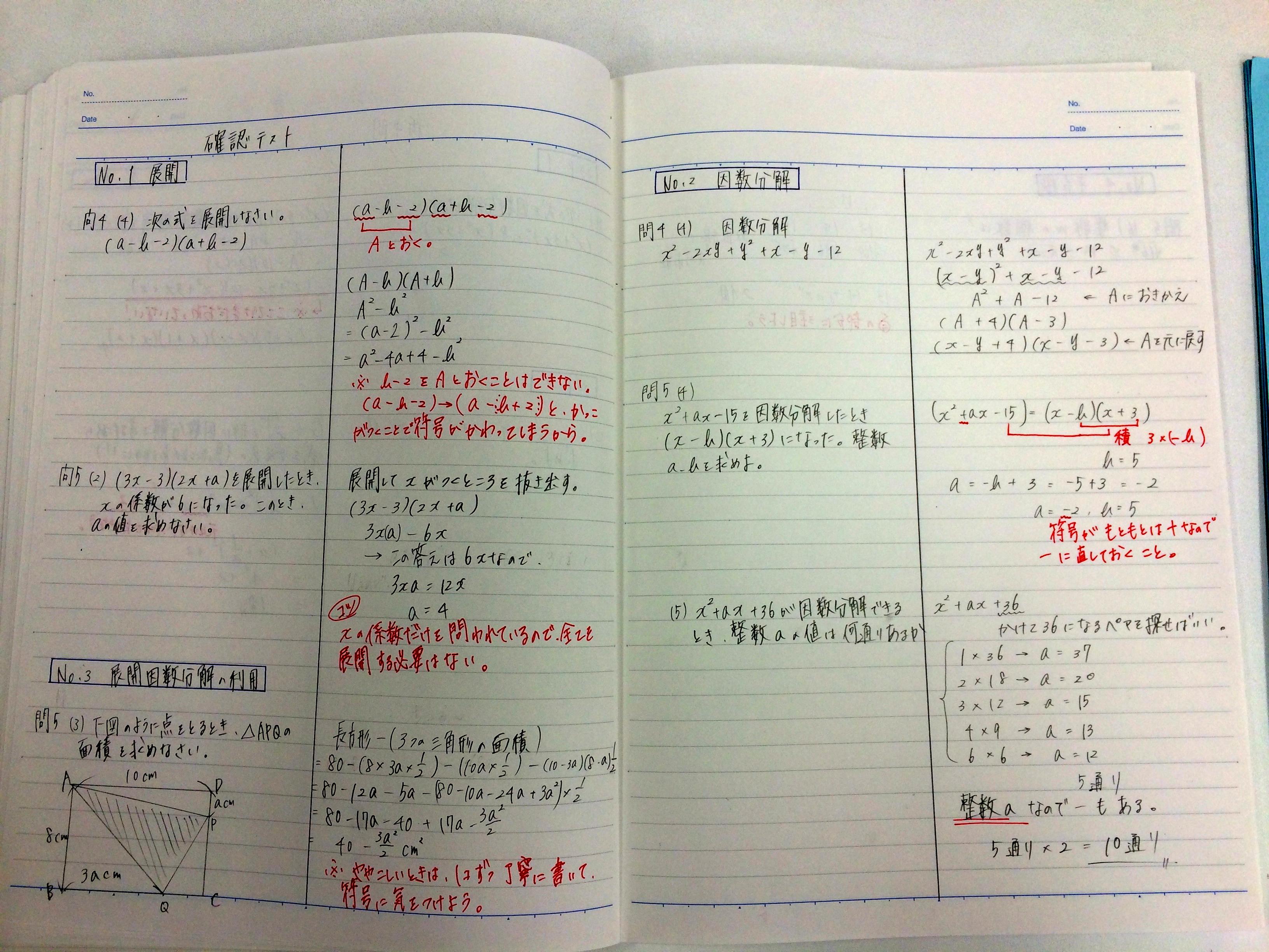 勉強できる子の定期テスト ...